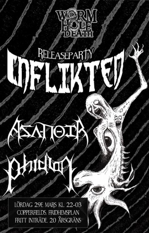 Inflikted release party