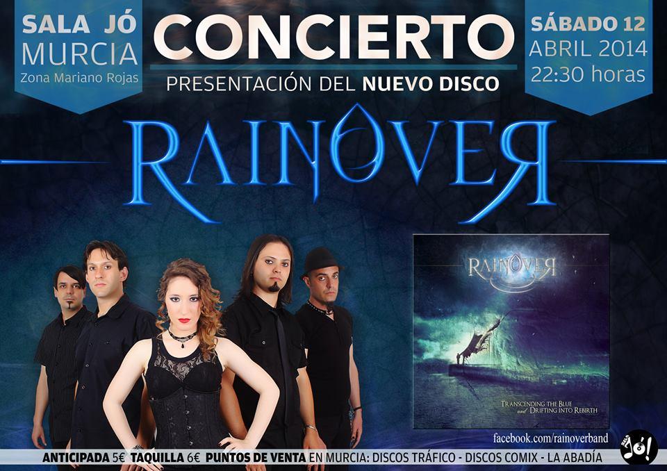 rainover release Party